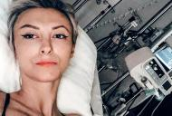Andreea Balan, a treia operatie. Are dureri mari
