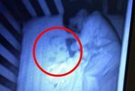 Misterul fantomei din patul bebelusului. Mama si-a dat seama abia dimineata ce era de fapt