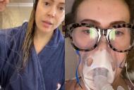 Vedeta a avut grave probleme de respirație, iar acum își pierde părul din cauza COVID-19. 'Purtați naiba mască'