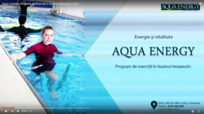 Aqua Energy - Program de exerciții în bazinul terapeutic OCH